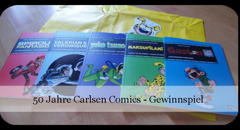 50 Jahre Carlsen Comics - 4 - Gewinnspiel