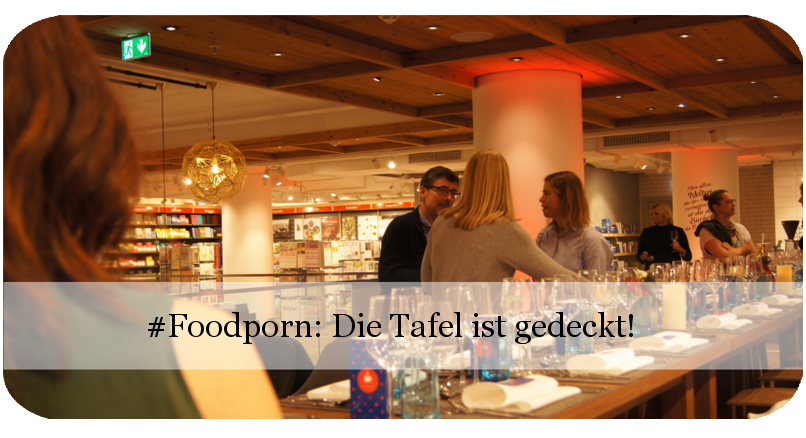 Bloggernight: Dinner im Hugendubel am Marienplatz