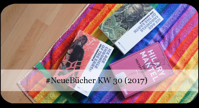 Neue Bücher KW 30 (2017)