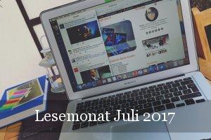 Lesestatistik Juli 2017