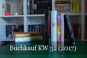 KW 32 Buchkauf (2017)