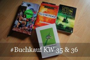 Buchkauf KW 35 & 36 (2017)