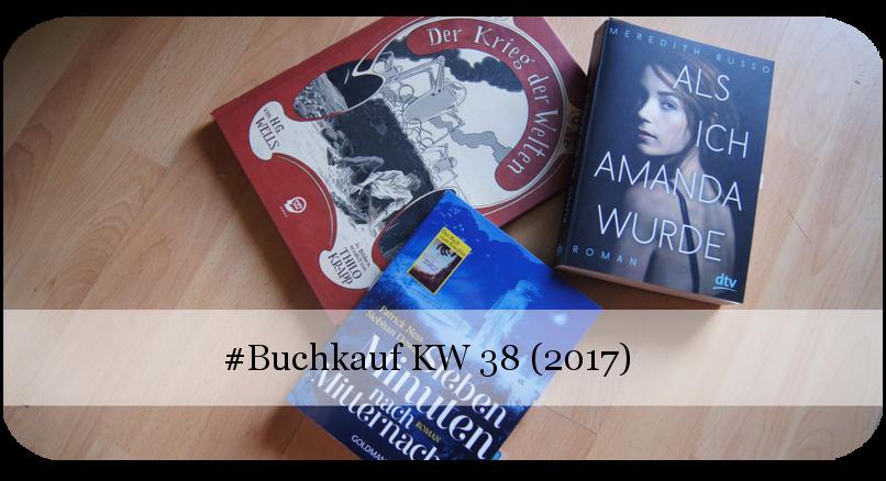 Neue Bücher KW 38 (2017)