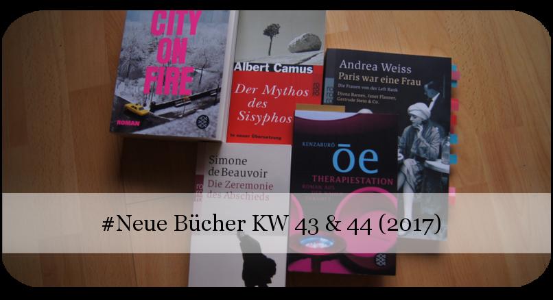 Newin Neue Bücher KW 43 & 44 (2017)