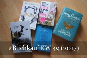 Buchkauf KW 49 (2017)