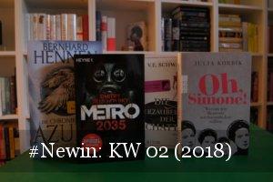 Neue Bücher KW 02 (2018)