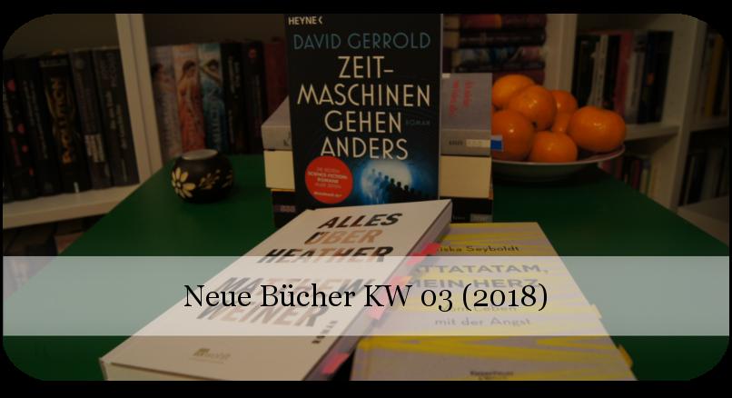 Neue Bücher KW 03 (2018)