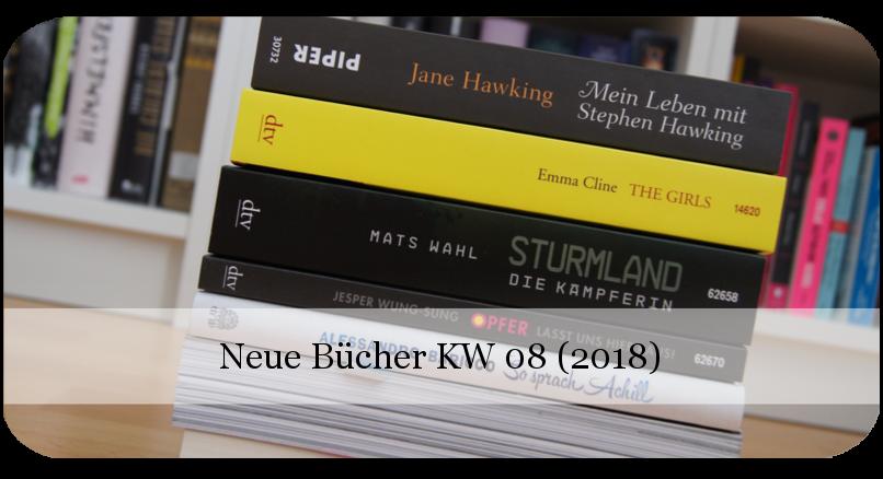 Neue Bücher KW 08 (2018)