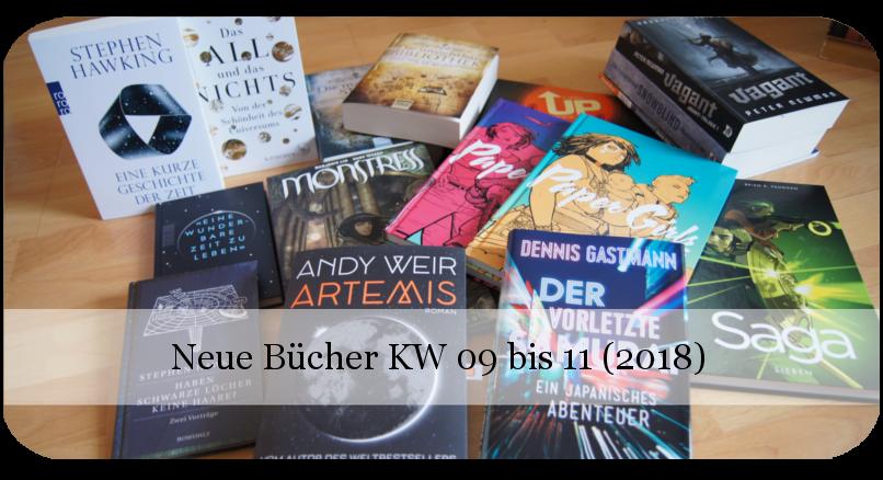 Neue Bücher KW 09 bis 11 (2018)