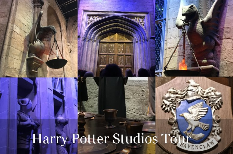 Harry Potter Studios Tour - Die große Halle