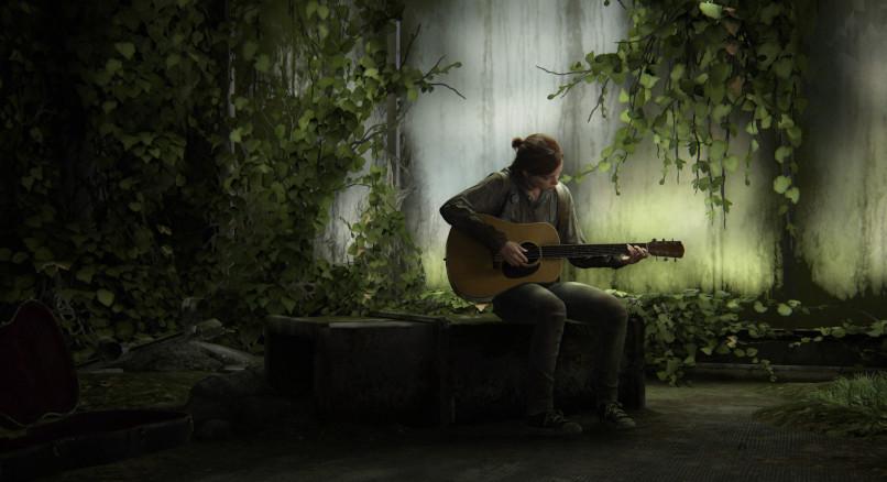 Ellie spielt Gitarre (The Last of Us Part 2)