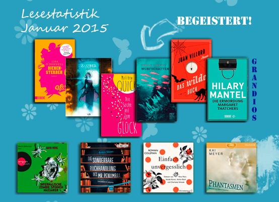 Lesestatistik, Einfach unvergesslich, Hilary Mantel, Phantasmen, Wurfschatten, Metrolit Verlag, Matthew Quick