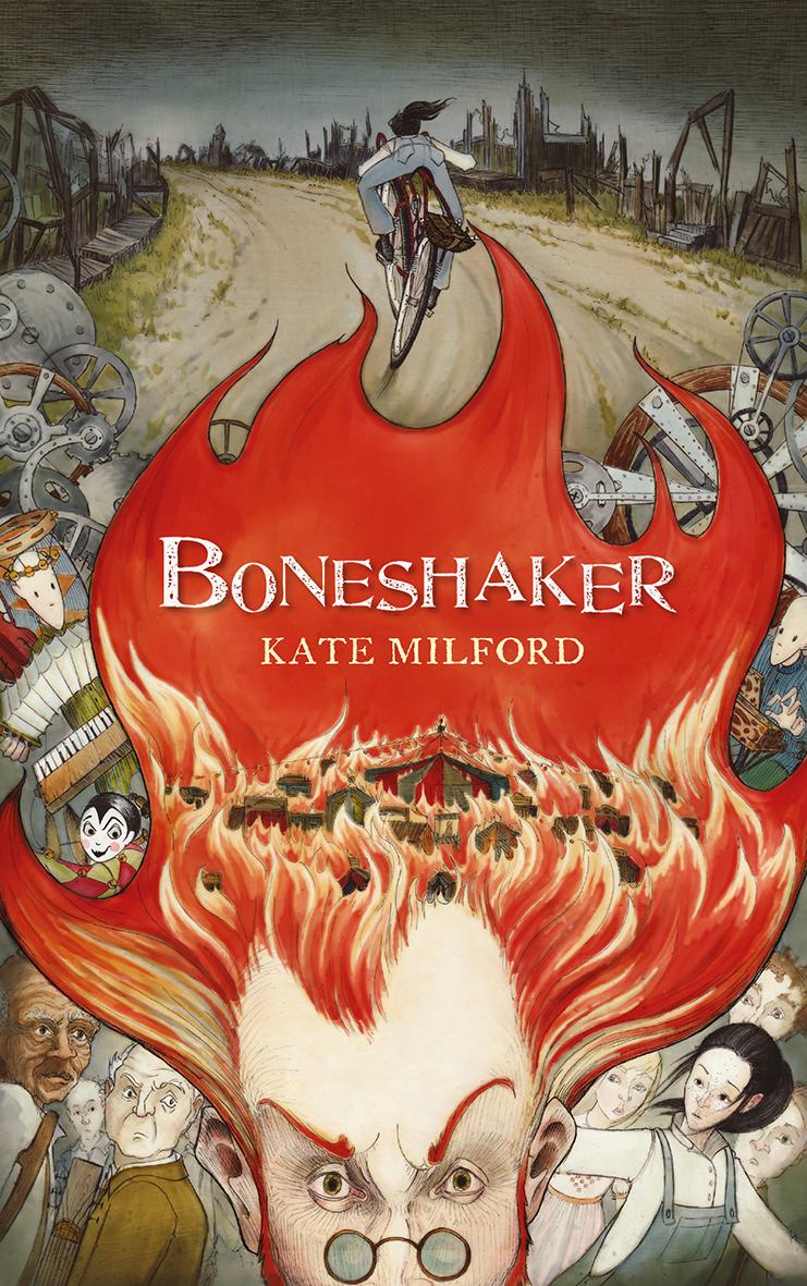Boneshaker von Kate Milford