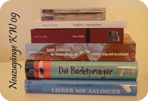 Die Buchspringer, Lieber Mr. Salinger, Knaus Verlag, Loewe Verlag, Olga A. Krouk