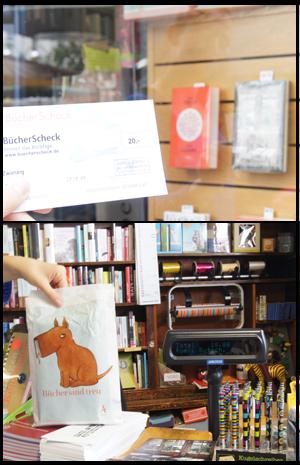BücherScheck, Buchhandlung Schutt