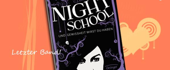 Night School 5- Und Gewissheit wirst du haben von C.J. Daugherty