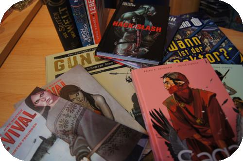Comics, Cross Cult, Saga, Epos, Revival, Gung Ho, Hack/Slash