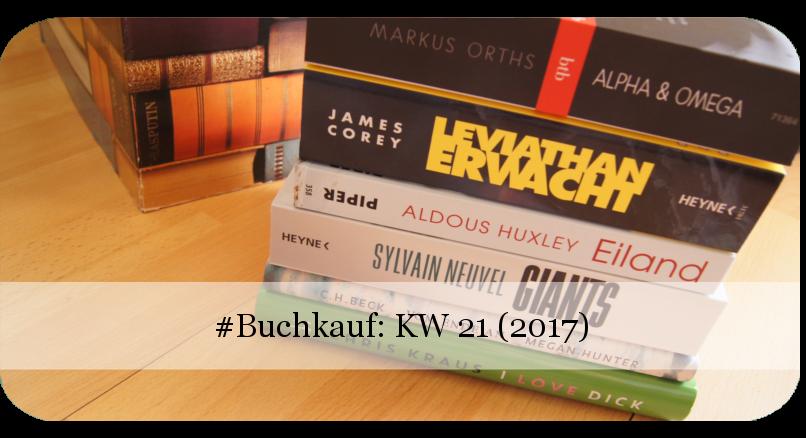 Buchkauf KW 21 2017