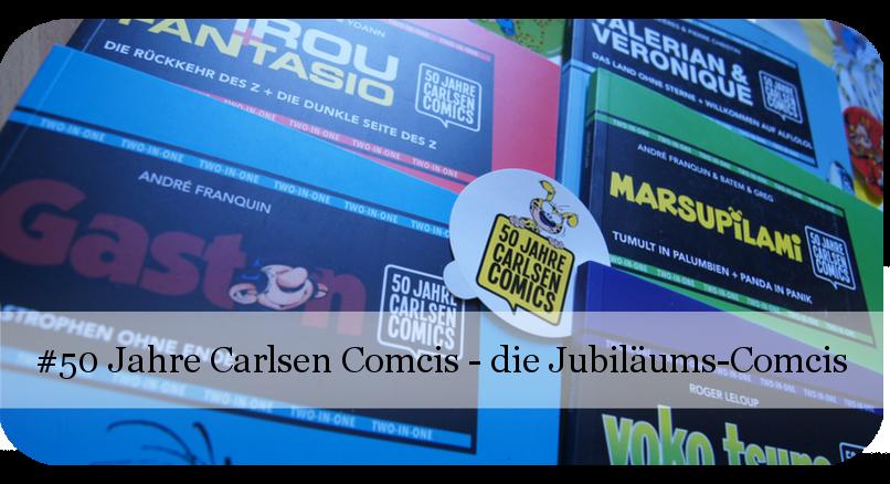 50 Jahre Carlsen Comcis - 3 - Die Jubiläumscomics
