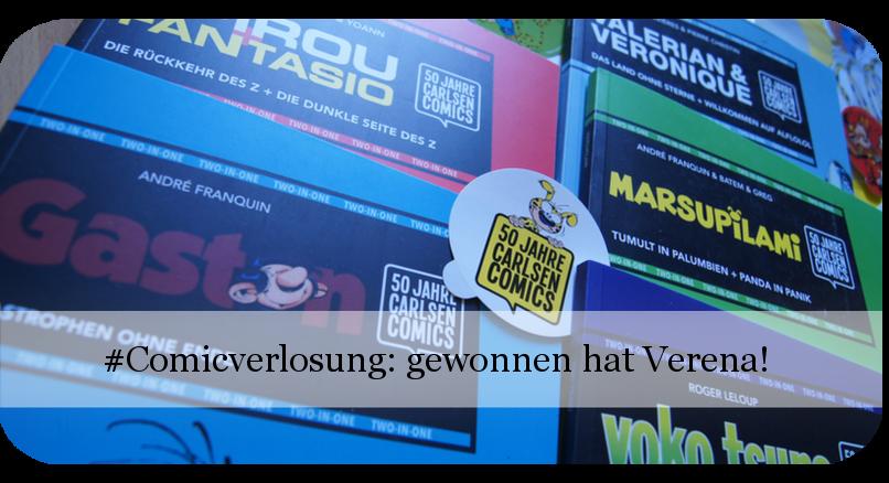 50 Jahre Carlsen Comics Gewinnerbekanntgabe