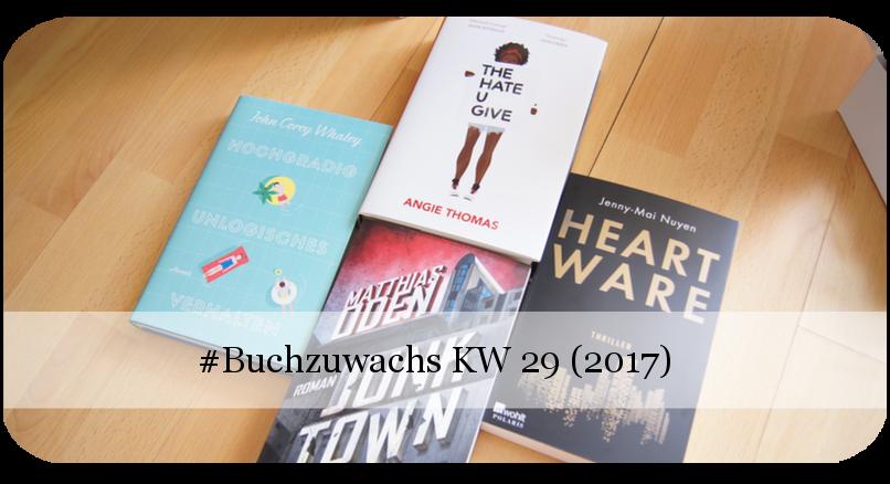 Buchzuwachs KW 29 /2017)