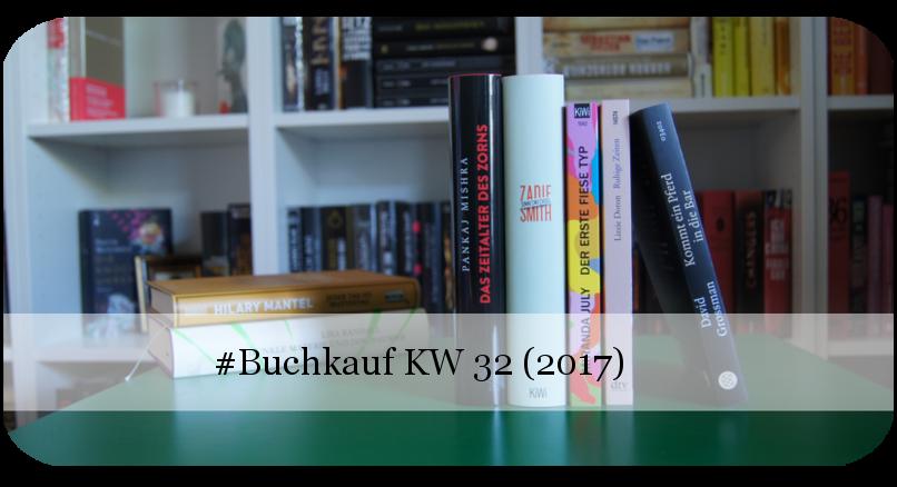 Buchkauf KW 32 (2017)