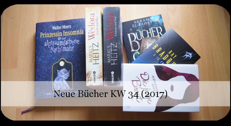 Neue Bücher KW 34 (2017)