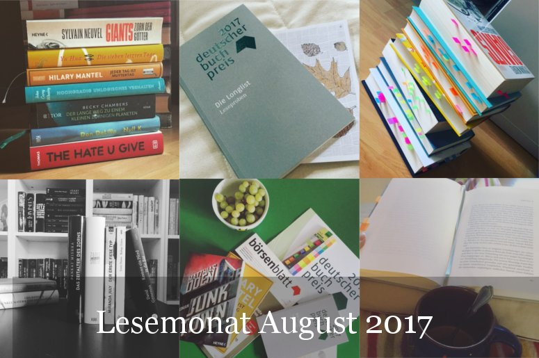 Lesemonat August 2017