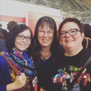 Frankfurter Buchmesse 2017 - Dagmar und Sandra
