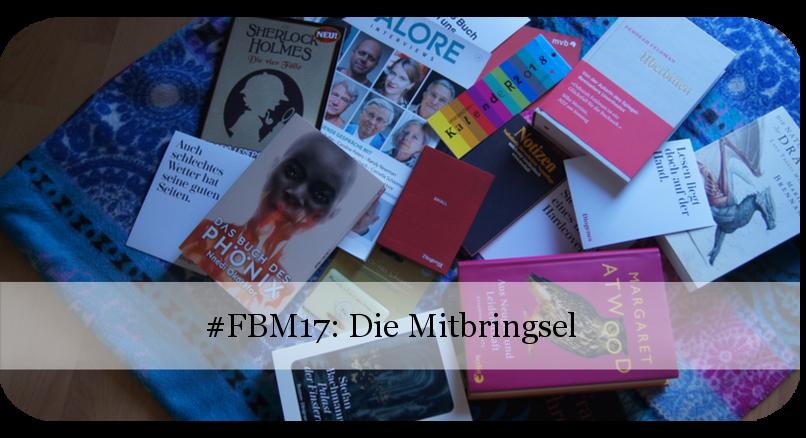 Frankfurter Buchmesse 2017 - Mitbringsel