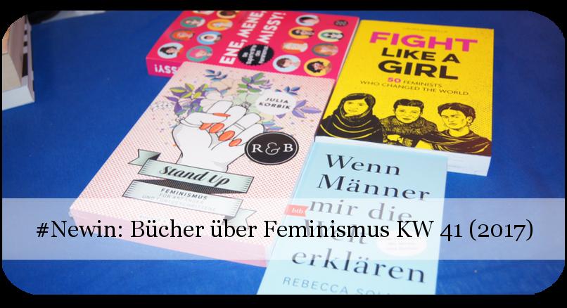 Neue Bücher über Feminismus KW 41 (2017)