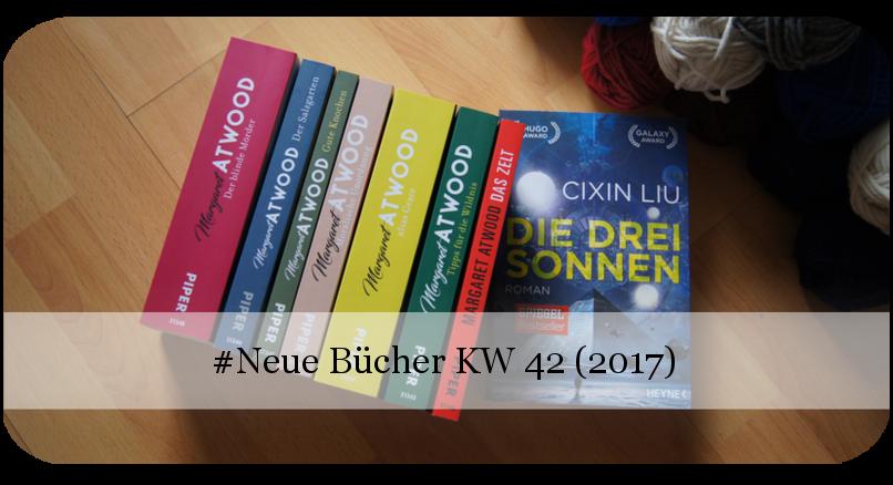 Neue Bücher KW 42 (2017)