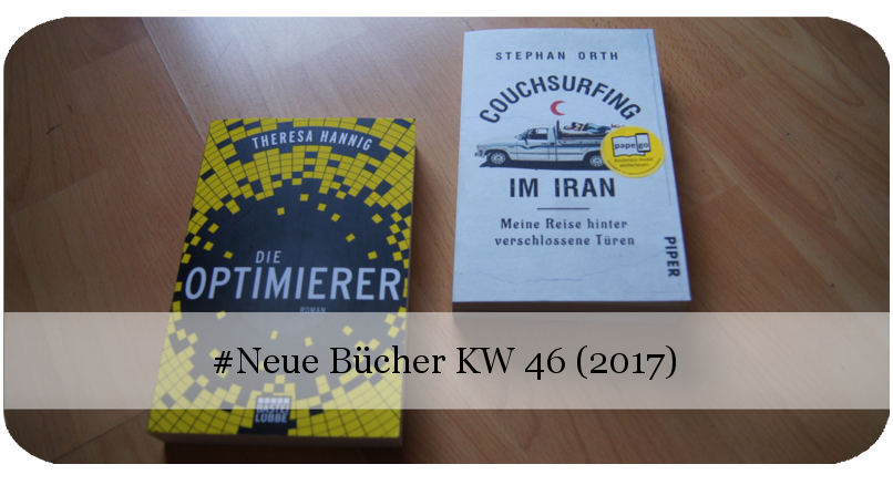 Neue Bücher KW 46 (2017)