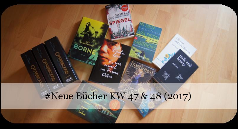 Neue Bücher KW 47 & 48 (2017)