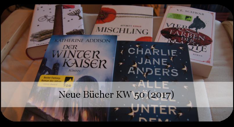 Neue Bücher KW 50 (2017)