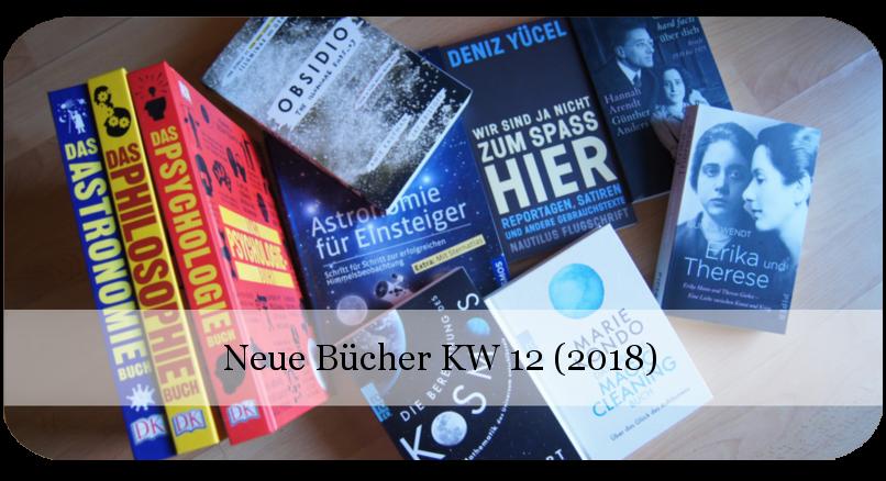 Neue Bücher KW 12 (2018)