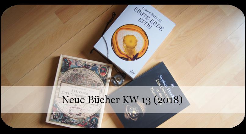 Neue Bücher KW 13 (2018) Wissen pur!