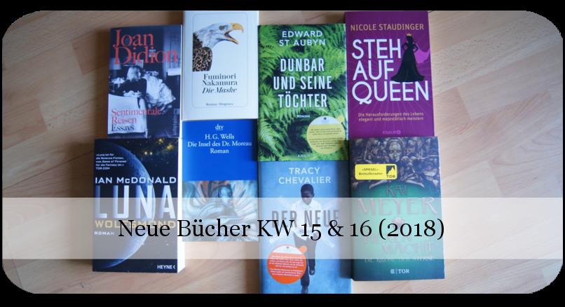 Neue Bücher KW 15 und 16 (2918)