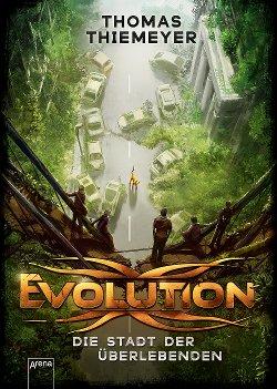 Cover Evolution von Thomas Thiemeyer