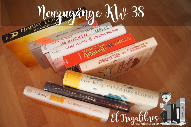 Neue Bücher KW 38
