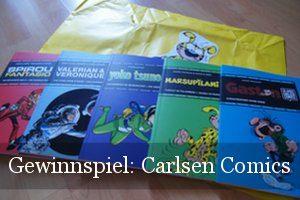 Carlsen Comics Gewinnspiel