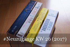 Neue Bücher KW 26 (2017)