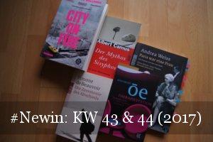 Newin Neue Bücher KW 43 und 44 /2017)