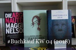 Neue Bücher KW 04 (2018)
