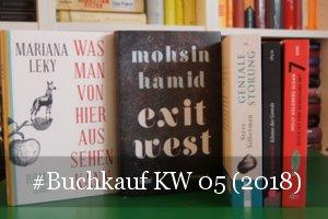 Neue Bücher KW 05 (2018)