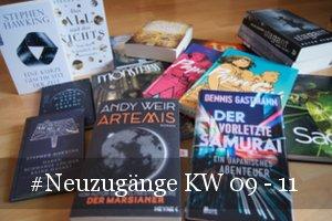 Neue Bücher KW 09 - 11 (2018)