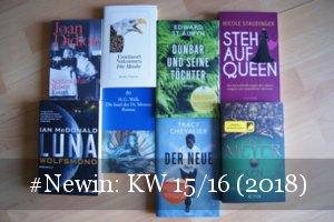 Neue Bücher KW 15 und 16 2018