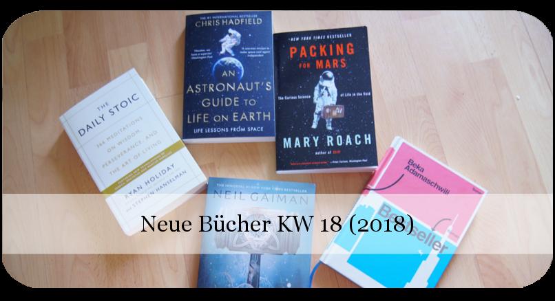 Neue Bücher KW 18 (2018)
