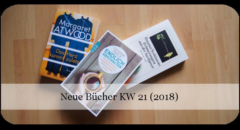 Neue Bücher KW 21 (2018)