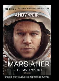 10 Jahre El Tragalibros - 10 Jugendbücher - Der Marsianer